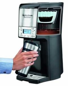 Hamilton Beach 12-Cup 48464 Brewstation Coffee Machine - Transparent View