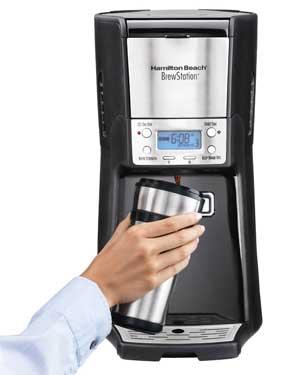 Hamilton Beach 12-Cup 48464 Brewstation Summit Dispensing Coffee Machine
