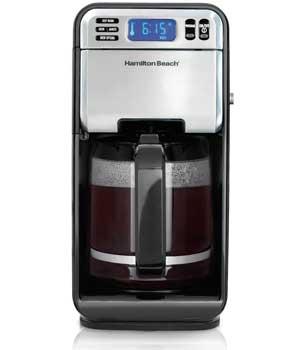 Hamilton Beach 12-Cup Digital Coffee Maker, Stainless Steel (46201 )