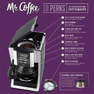 Mr. Coffee - 8 Benefits of the new coffee maker