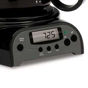 Mr. Coffee DRX5 - Control Panel