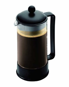 Bodum Brazil 8-Cup French Press Coffee Maker, Black