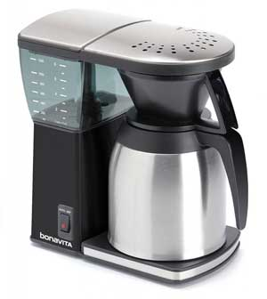 Bonavita BV1800SSB 8 Cup Coffee Maker With Thermal Carafe