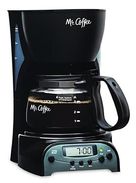 Mr Coffee 4 Cup Coffee Maker