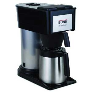 BUNN BT Velocity Brew 10-Cup Thermal Carafe Home Coffee Brewer