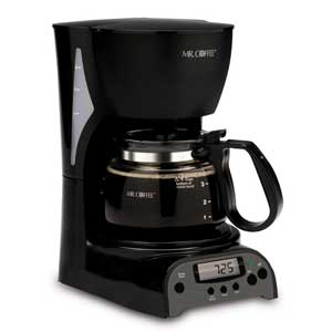 Mr. Coffee DRX5 4-Cup Programmable Coffeemaker