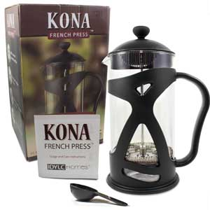 Kona French Press from IDYLC Homes